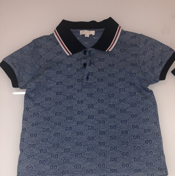 62dcb6a07ec Gucci Other - Boy s Authentic Gucci Polo Shirt